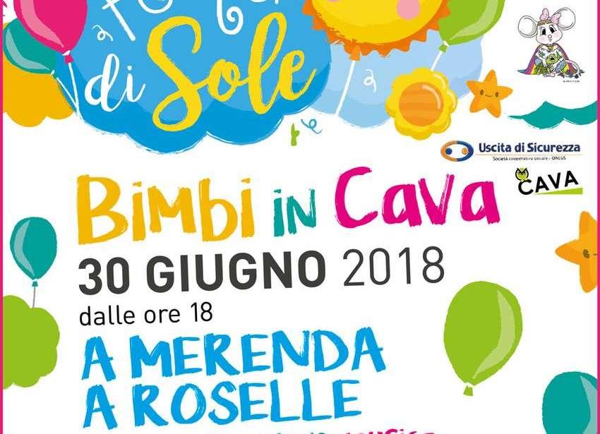 """""""Bimbi in Cava"""" per la Festa di Sole"""