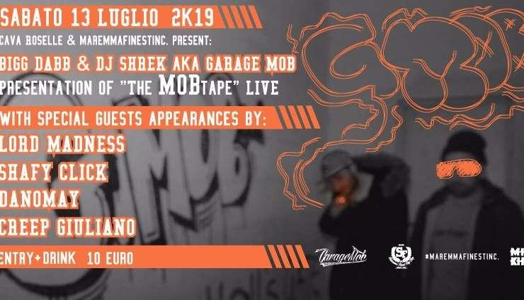 Hip hop alla Cava con i Garage Mob e tanti ospiti