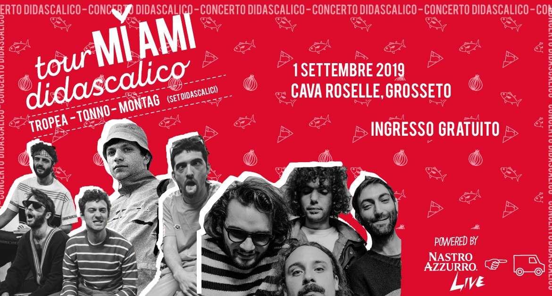 Mi Ami tour: alla Cava il festival della musica e dei baci